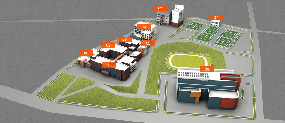 Bowun Campus map image