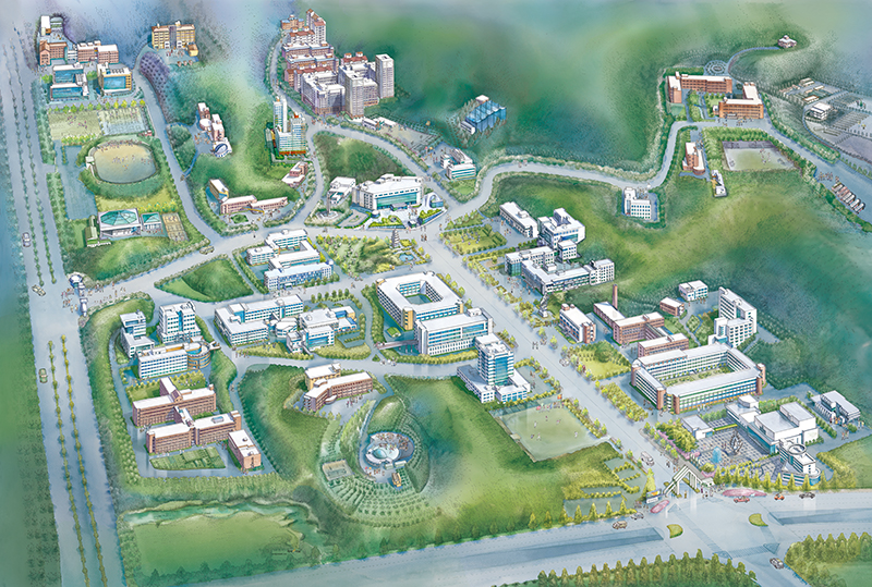 CHUNGNAM NATIONAL UNIVERSITY CAMPUS MAP